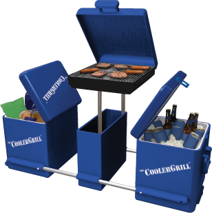 The CoolerGrill