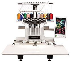 10 needle embroidery machine cost