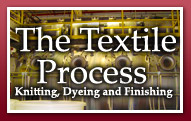 The Textile Process -- Knitting, Dyeing and Finishing