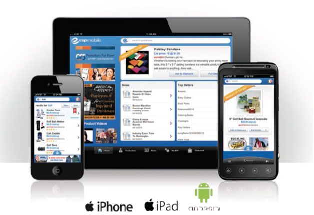 ESP - ASI Promotional Products Mobile Software with Search