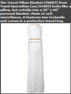Travel Pillow Blanket
