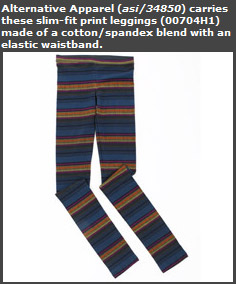 Slim-Fit Print Leggings