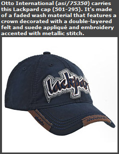 Lackpard Cap