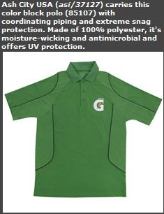 Color Block Polo
