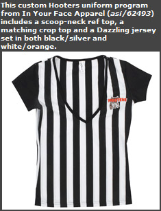 Hooters Uniform