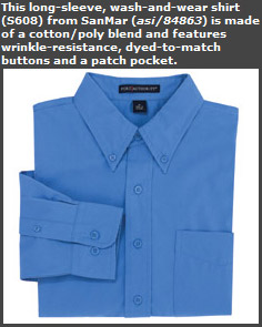 Wash-and-Wear Shirt