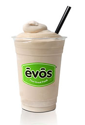 Free EVOS milkshake on Earth Day