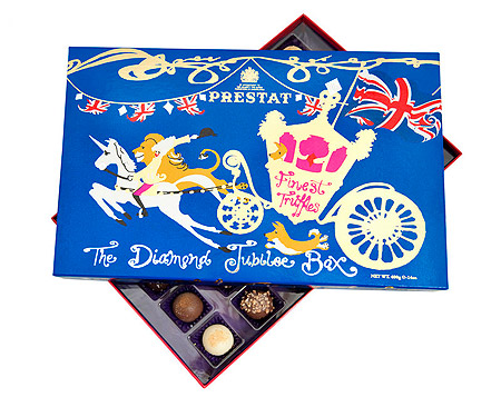 Queen Elizabeth II Royal Jubilee Chocolates