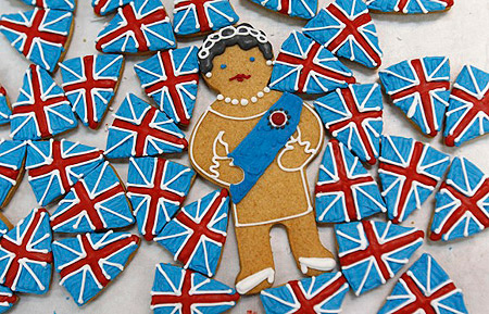Queen Elizabeth II Royal Jubilee Cookies