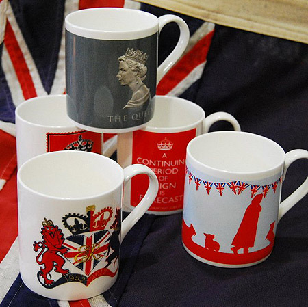 Queen Elizabeth II Royal Jubilee Mugs