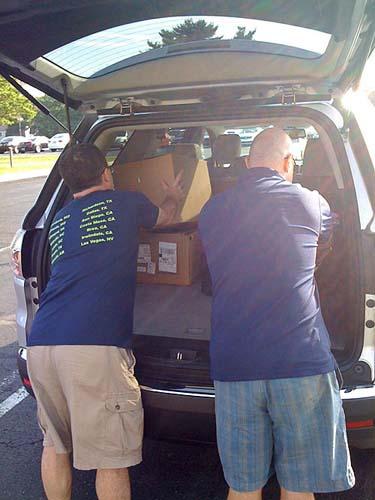 Packing the Caravan