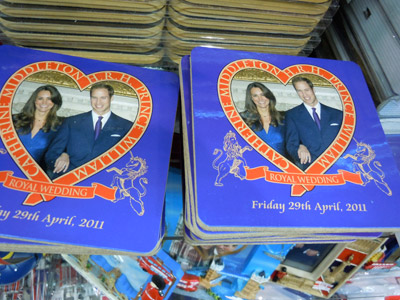 Royal Wedding Commemorative Coasters