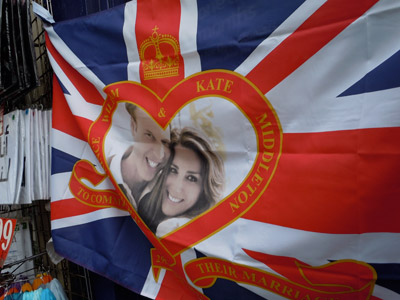 Royal Wedding Commemorative Flag