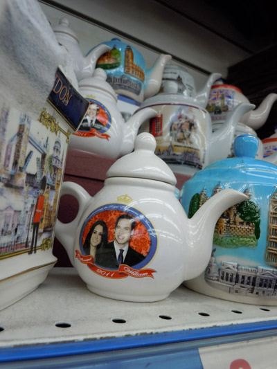Royal Wedding Tea Kettle