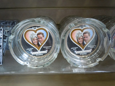 Royal Wedding Ashtray
