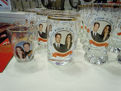 Royal Wedding Glasses