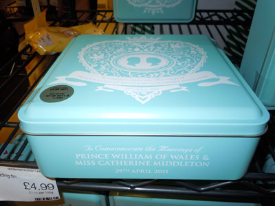 Royal Wedding Storage Bin