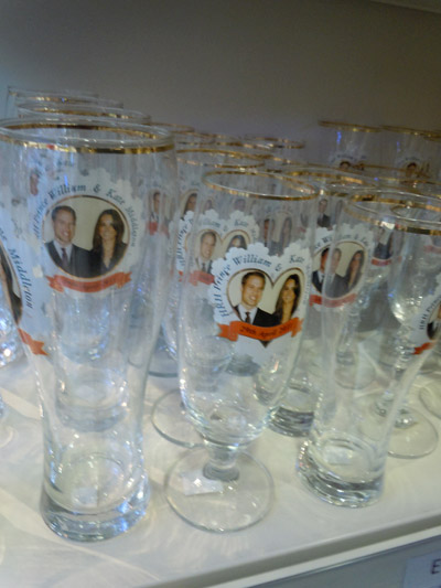 Royal Wedding Champagne Glasses