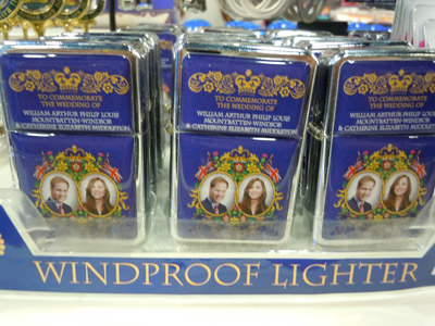 Royal Wedding Windproof Lighter