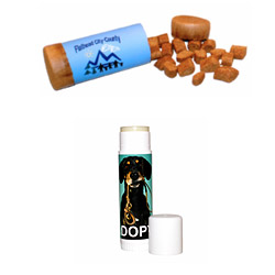 Dog training treats and pad balm