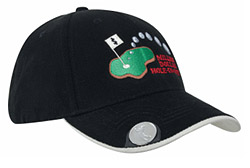 Cap with ball marker