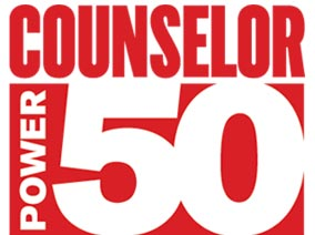 Hot off the press! Meet the industry's 50 most influential people in this year's <br /><em>Counselor</em> Power 50.