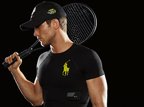Move over, smart watches. Designer Ralph Lauren is serving up the latest in stylish wearable tech at the U.S. Open in the form of smart shirts.