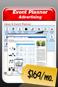 Event Planner Advertising