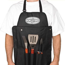 BBQ Set With Apron