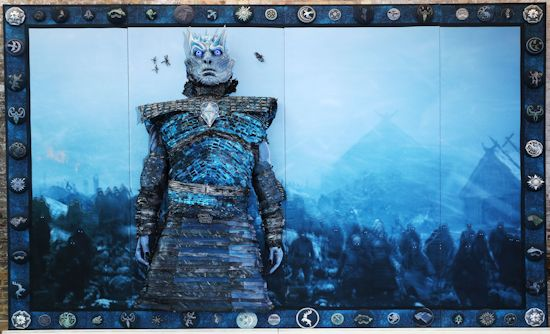 Game Of Thrones Gets Epic Embroidery Treatment In London