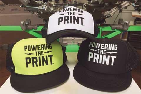 Screen printing works best on a flat medium 8b1ef0353e0