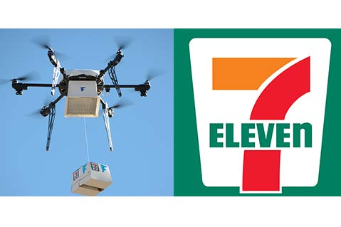7 Eleven Launches First US Drone Delivery Service