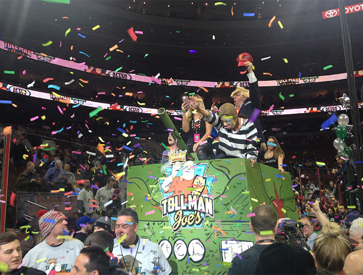 Wing Bowl 25 Toll Man
