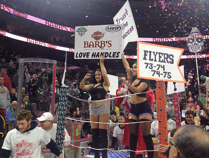 Wing Bowl Love Handles
