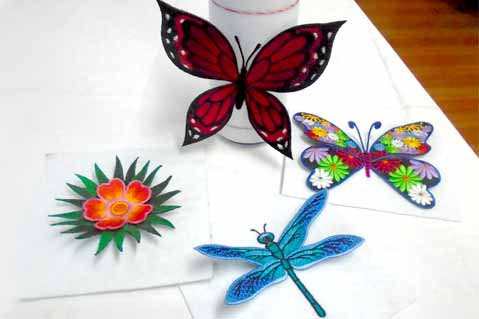Create Pop Out Embroidery Projects