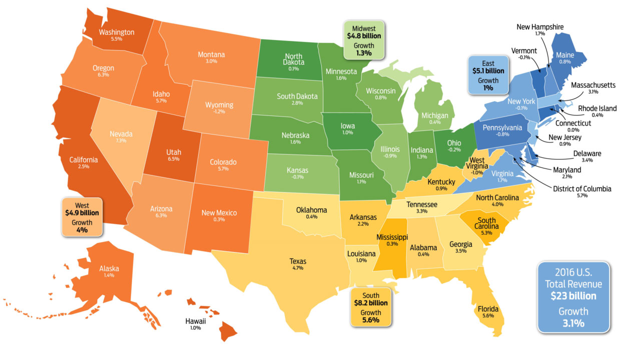 Map Of The South Us Region Globalinterco - Us map sourh