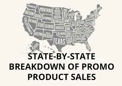 State-By-State Breakdown of Promo Product Sales