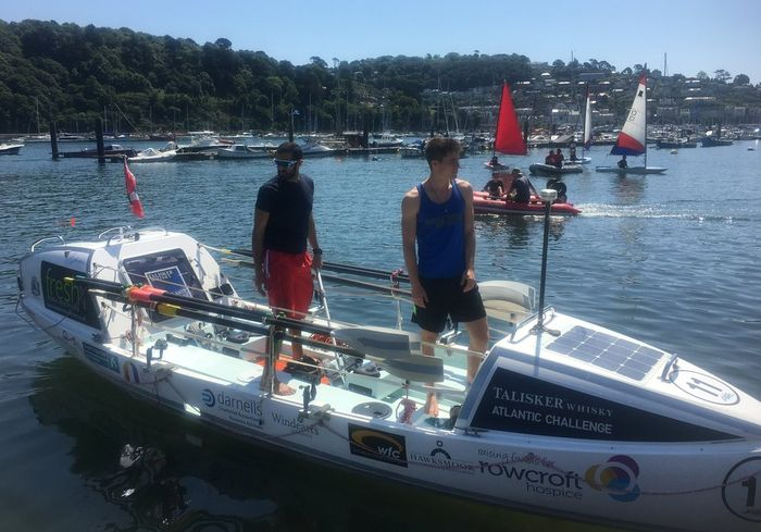 Rowing 3,000 Miles For Charity