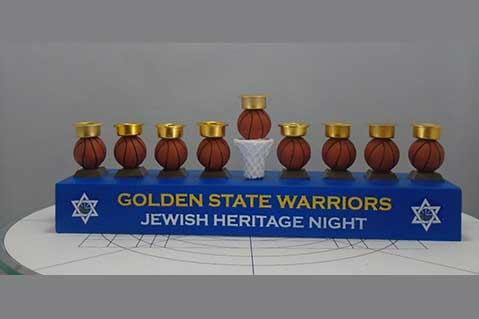 BDA Recalls Golden State Warriors' Promo Menorah
