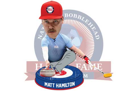 Olympic Gold Leads to First Ever Curling Bobblehead