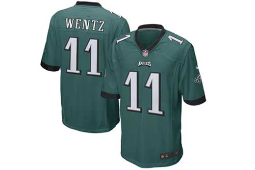 Merch Watch: Carson Wentz Tops Tom Brady In Jersey Sales