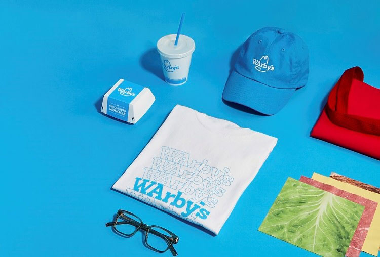 """31208a3587a Fast food chain Arby s and eyewear company Warby Parker have announced a  """"groundbreaking new partnership"""" that came about since """"Arby s has an eye  for meat ..."""