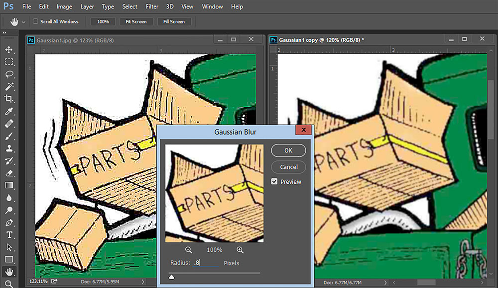 Fix Low-Quality Artwork in Photoshop