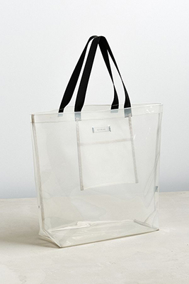 582b91ed085c Interestingly, the high-fashion transparent trend extends beyond totes into  other bag categories, including reusable shopping bags.