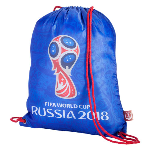 0179fbfa882 Should you need to work off pounds gained from World Cup partying, this  official tournament gymsack will help you lug your activewear to the  fitness center.