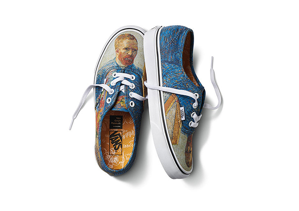 83fc7acb2aec Case Study  Van Gogh Paintings Featured in New Vans Collection