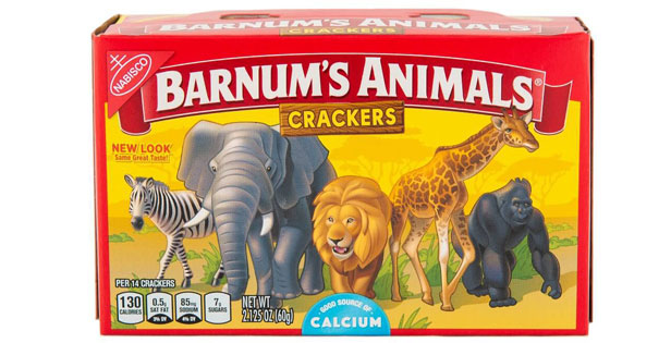 animal crackers out of captivity
