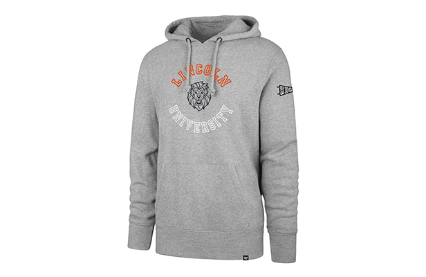 560d9e36 Lincoln University hooded sweatshirt from '47's HBCU capsule collection.  Available here.