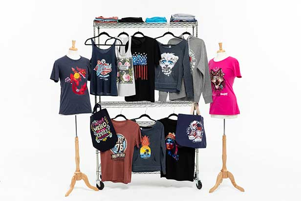 18376d5b With direct-to-garment printing, you can customize a dizzying array of  products. DTG printing works best with fabrics that are at least 50%  cotton, ...