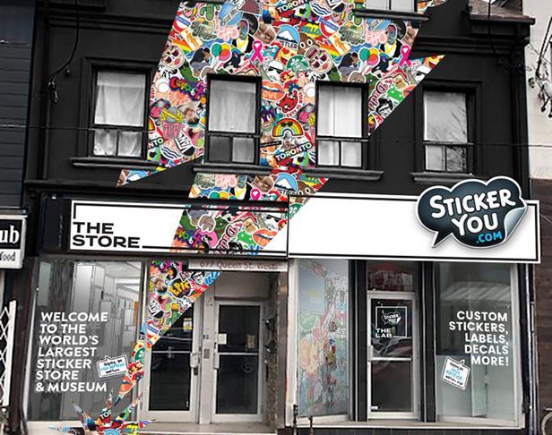 StickerYou Opening Retail Space
